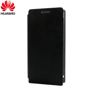Huawei Edge Flip Case for Ascend P6 - Black