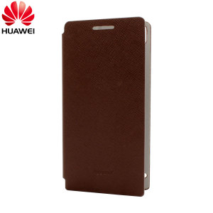 Huawei Edge Flip Case for Ascend P6 - Brown