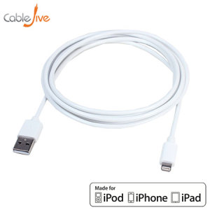 iBoltz XL 2m Apple Lightning to USB Sync and Charge Extra Long Cable