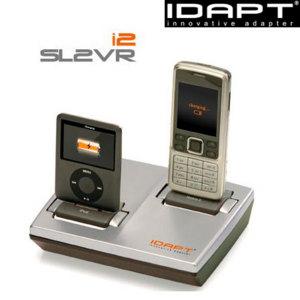 Idapt I2 Universal Desktop Charger Silver