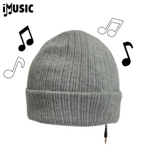 iMusic Hat Knitted Unisex - Slate Grey