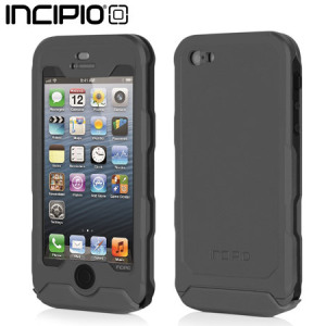 Incipio Atlas Waterproof Rugged Case for iPhone 5S / 5 - Grey / Black