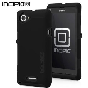 Incipio DualPro Case For Sony Xperia L - Black/Black