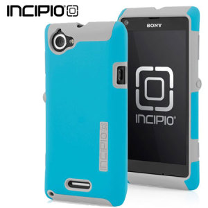 Incipio DualPro Case For Sony Xperia L - Cyan/Grey