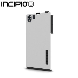 Incipio DualPro Case For Sony Xperia Z1 - White / Charcoal Grey
