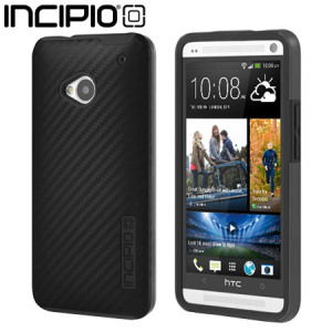 Incipio DualPro CF Case for HTC One M7 - Black