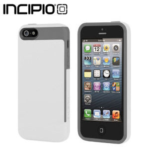 Incipio Faxion Case for iPhone 5S / 5 - White / Grey