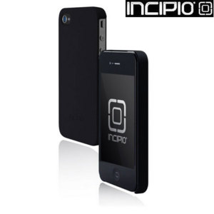 Incipio Feather Case For iPhone 4S / 4 - Matte Black