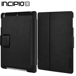 Incipio Lexington Hard Shell Folio for iPad Air - Black