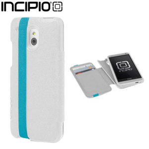 Incipio Watson Wallet Case for HTC One Mini - White / Teal