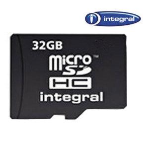 Integral 32GB Class 10 microSDHC Memory Card