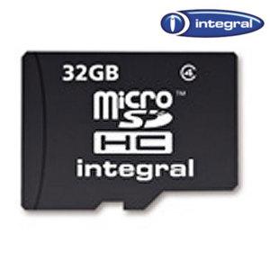 Integral 32GB Class 4 microSDHC Memory Card
