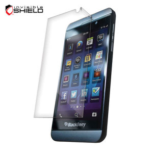 InvisibleSHIELD Screen Protector for BlackBerry Z10