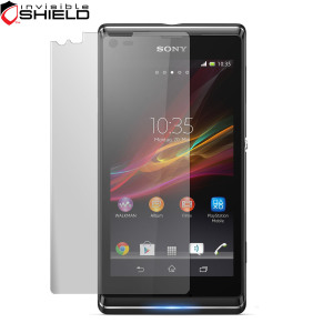 InvisibleSHIELD Screen Protector for Sony Xperia L