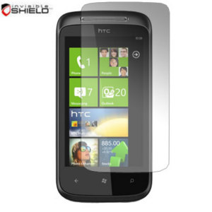 InvisibleSHIELD Screen Protector - HTC 7 Mozart