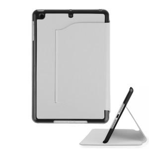 iPad Mini 2 / iPad Mini Ultra-Thin Leather Case with Stand - White