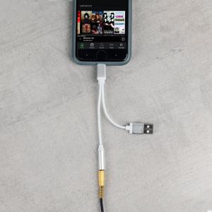 iPhone 7 & 7 Plus Lightning To USB & 3.5mm Audio Headphone Splitter