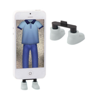 iPhone Novelty Shoes Desk Stand - White