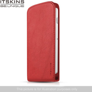 ITSKINS Milano Flap Wiko Bloom Flip Case - Coral