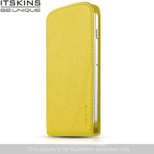 ITSKINS Milano Flap Wiko Bloom Flip Case - Yellow