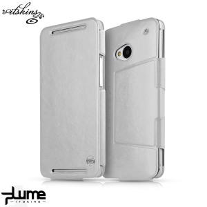 ITSKINS Plume Flip Case for HTC One M7 - White