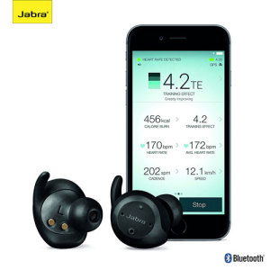 Jabra Elite Sport Wireless Fitness Earphones - Black