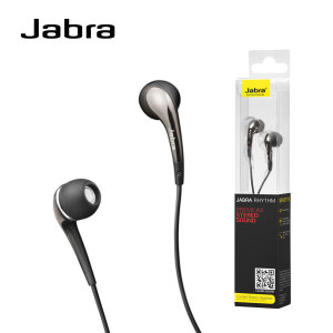 Jabra Rhythm Wired Stereo Headset and Built-in Microphone - Black