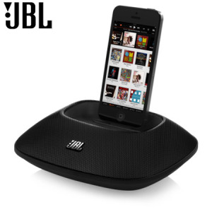 JBL OnBeat Micro Lightning Speaker Dock for Apple Devices - Black