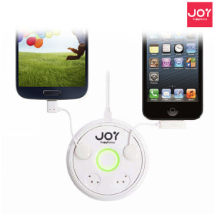 Joyfactory ZipMini Touch-n-Go Multi Charging Station - White