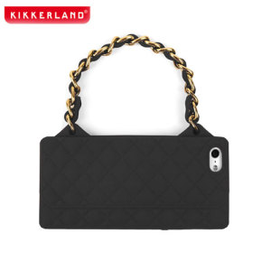 Kikkerland Purse Case for iPhone 5S / 5 - Black