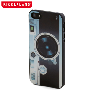 Kikkerland Retro Case for iPhone 5S/5 - Camera