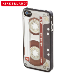 Kikkerland Retro Case for iPhone 5S/5 Case - Cassette