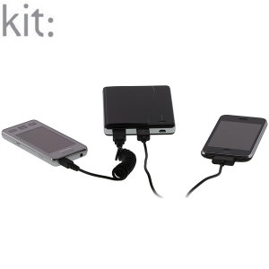 Kit: Power Power Scout Portable Battery Charger