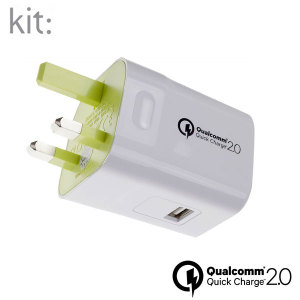 Kit USB Qualcomm Quickcharge 2.0 Mains Charger