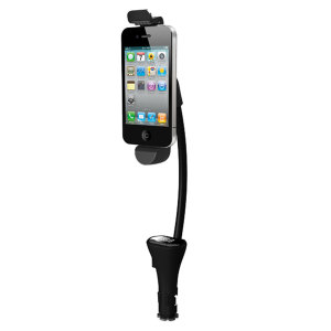 Kitperfect Car Holder, Charger & FM Transmitter for iPhone and iPod