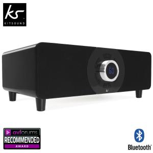 KitSound Boom Evolution 2.1 Bluetooth Sound System - Black