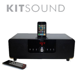 KitSound BoomDock Docking Station for iPod / iPhone 4 / 3GS / 3G