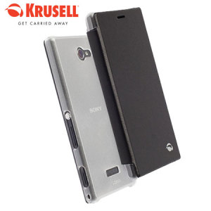 Krusell Boden Sony Xperia M2 FlipCover Case - Black