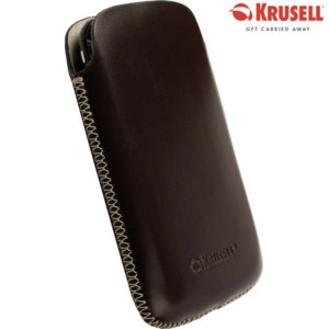 Krusell DONSö Leather Pouch for Samsung Galaxy S i9000 - Brown