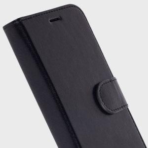 Krusell Ekero Samsung Galaxy S7 Edge 2-in-1 Folio Wallet Case - Black