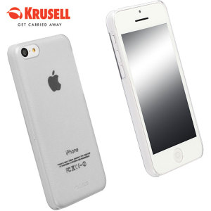 Krusell Frostcover Case for iPhone 5C - White