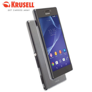 Krusell FrostCover Sony Xperia M2 Case - Transparent White