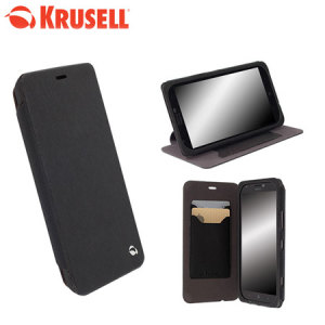 Krusell Malmo Flip Cover for Nokia Lumia 1320 - Black