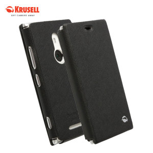 Krusell Malmo Flip Cover for Nokia Lumia 925 - Black
