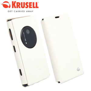 Krusell Malmo Flipcover for Nokia Lumia 1020 - White