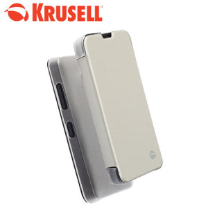 Krusell Nokia Lumia 630 / 635 Boden FlipCover - White