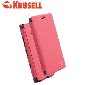 Krusell Nokia Lumia 930 / Icon Malmo FlipCase WwN - Pink
