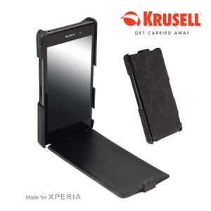 Krusell Tumba SlimCover For Sony Xperia Z1 - Vintage Black