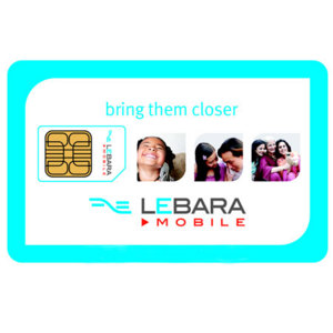 Lebara Global SIM Card Pack
