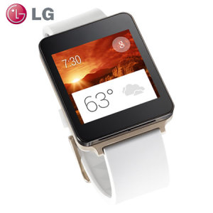 LG G Watch for Android Smartphones - White Gold